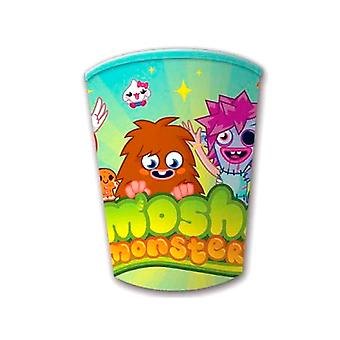 Moshi monster Party papper koppar 260ml