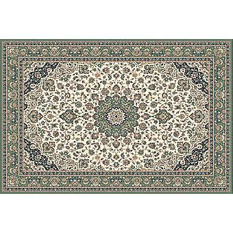 Kasbah Green 12217-416 Shades of ivory, beige and green Rectangle Rugs Traditional Rugs