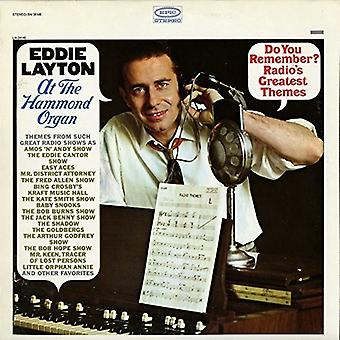 Eddie Layton - Do You Remember Radio's Greatest Themes [CD] USA import
