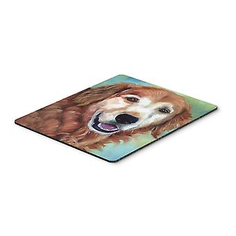 Golden Retriver Good Boy Mouse Pad, Hot Pad or Trivet