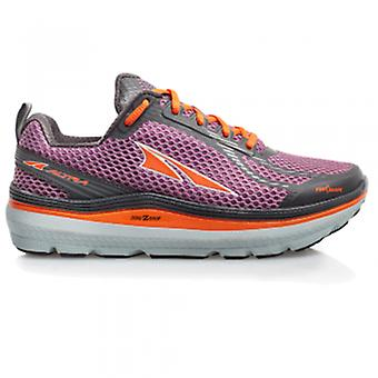 Womens paradigma 3.0 Zero goccia Road Running Shoes Purple/Orange