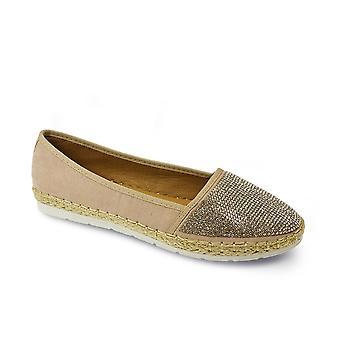 Lunar Hudson Diamante Casual Shoe