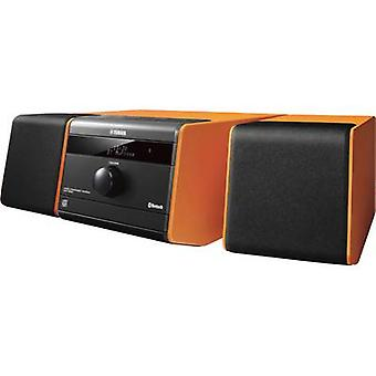 Audio system Yamaha MCR-B020 AUX, Bluetooth, CD, USB, 2 x 15 W Orange