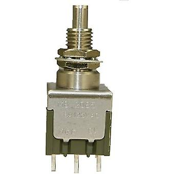 Pushbutton switch 250 V AC 3 A 1 x On/On NKK Switches