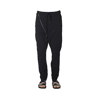 Nostrasantissima men's PP1301000 black cotton pants