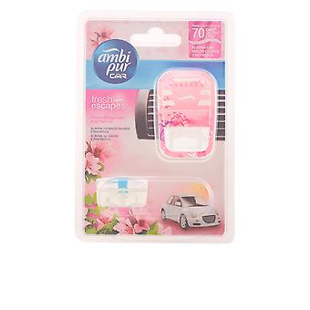 Ambi Pur Car Air Freshener Appliance + Replacement For Her 7ml New Scent Spray