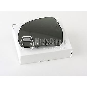 Left Mirror Glass (heated) & Holder for Audi A5 Convertible 2009-2011