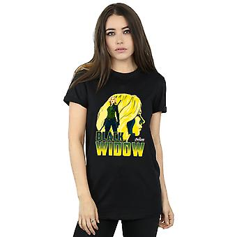 Avengers Women's Infinity War Black Widow Character Boyfriend Fit T-Shirt