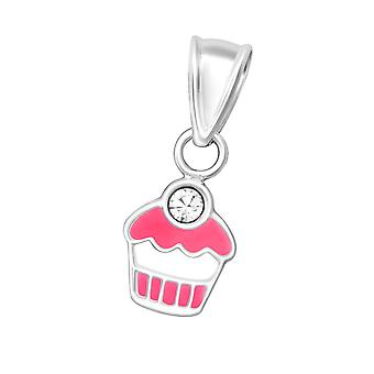 Cupcake - 925 argent Sterling pendentif - W36663x