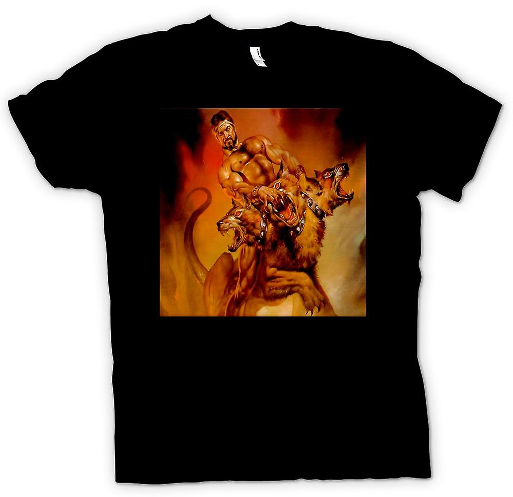 Mens T-shirt - Cerberus Greek Mythology