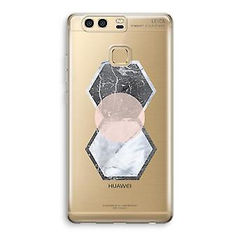 Huawei P9 Transparent Case (Soft) - Creative touch