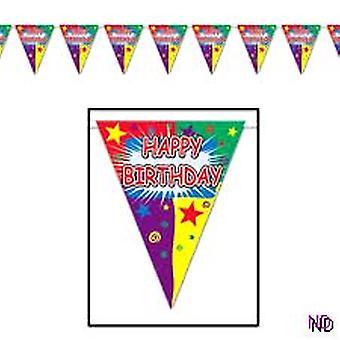 Happy Birthday Wimpel Bunting