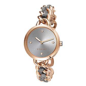 ESPRIT ladies watch bracelet watch Lily stainless steel Rosé ES107952003
