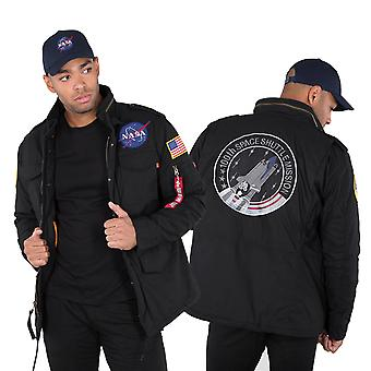 Alpha industries M-65 jacket heritage NASA
