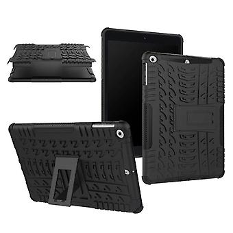 Hybrid outdoor protective cover case black for NEW Apple iPad 9.7 2017 bag