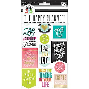 Create 365 Happy Planner Stickers 5/Sheets -Life Quotes