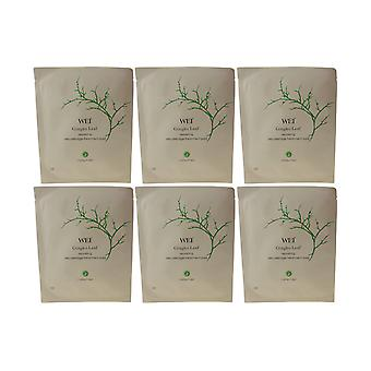 Wei Beauty Gingko Leaf Repairing Decolletage Treatment Pads (Pack Of 6)