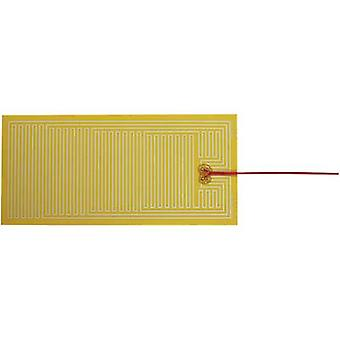 Thermo Polyester Heating foil self-adhesive 24 Vdc, 24 V AC 30 W IP rating IPX4 (L x W) 340 mm x 160 mm