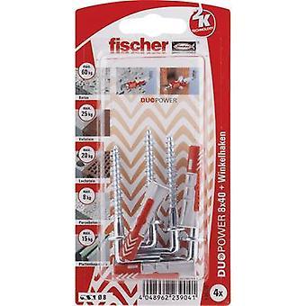 Fischer DUOPOWER Dowel set 40 mm 535219 1 Set