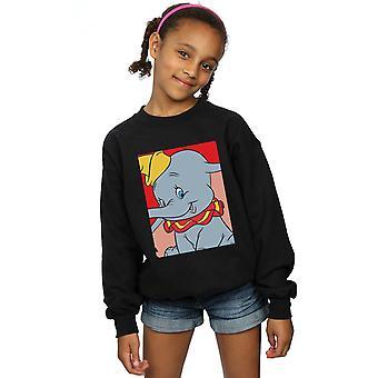Disney Mädchen Dumbo Portrait Sweatshirt