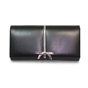 Lunare Roxie Bow Clutch-Tasche