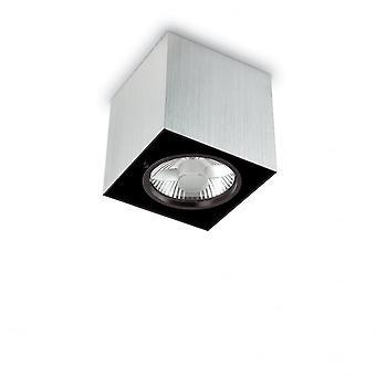 Ideal Lux humeur 14,5 cm GU10 spot de plafond en Aluminium Surface carré