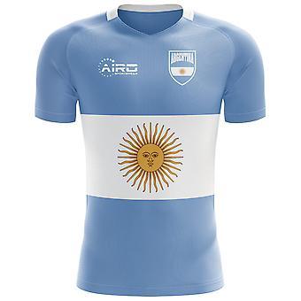 2018-2019 Argentinien Flagge Konzept Fußballtrikot