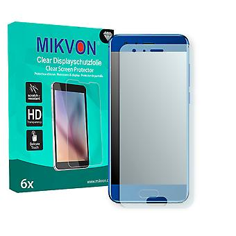 Honor 9 Screen Protector - Mikvon Clear (Retail Package with accessories) (intentionally smaller than the display due to its curved surface)