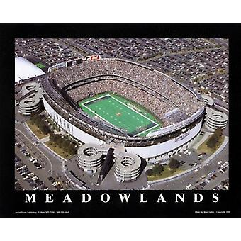 Meadowlands - Ny jatos no Giants Stadium Poster Print por Brad Geller (28 x 22)