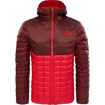 North Face ThermoBall Hoodie - TNF Red/Sequoia Red