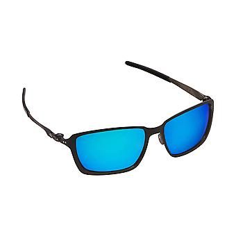 TINCAN Replacement Lenses Polarized Black & Blue by SEEK fits OAKLEY Sunglasses