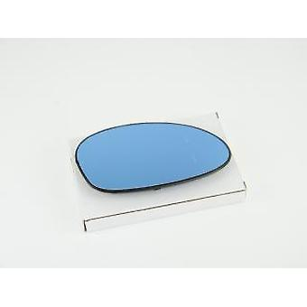 Right Driver Side Blue Mirror Glass (Heated) & Holder For BMW 3 Coupe 2006-2009