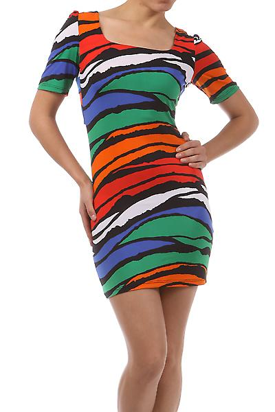 Waooh - Fashion - Summer Dress Zebra Pattern & Colorful