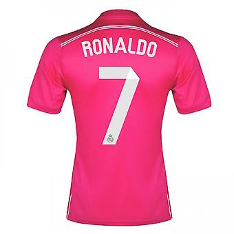 2014-15 Real Madrid Away Shirt (Ronaldo 7) - Kids