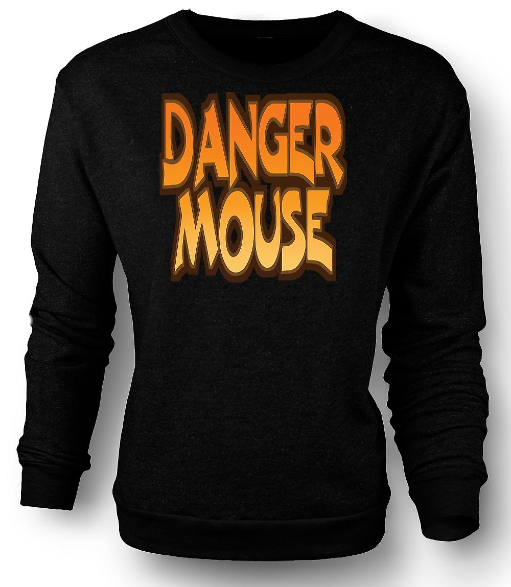 Mens Sweatshirt Danger Mouse - Funny