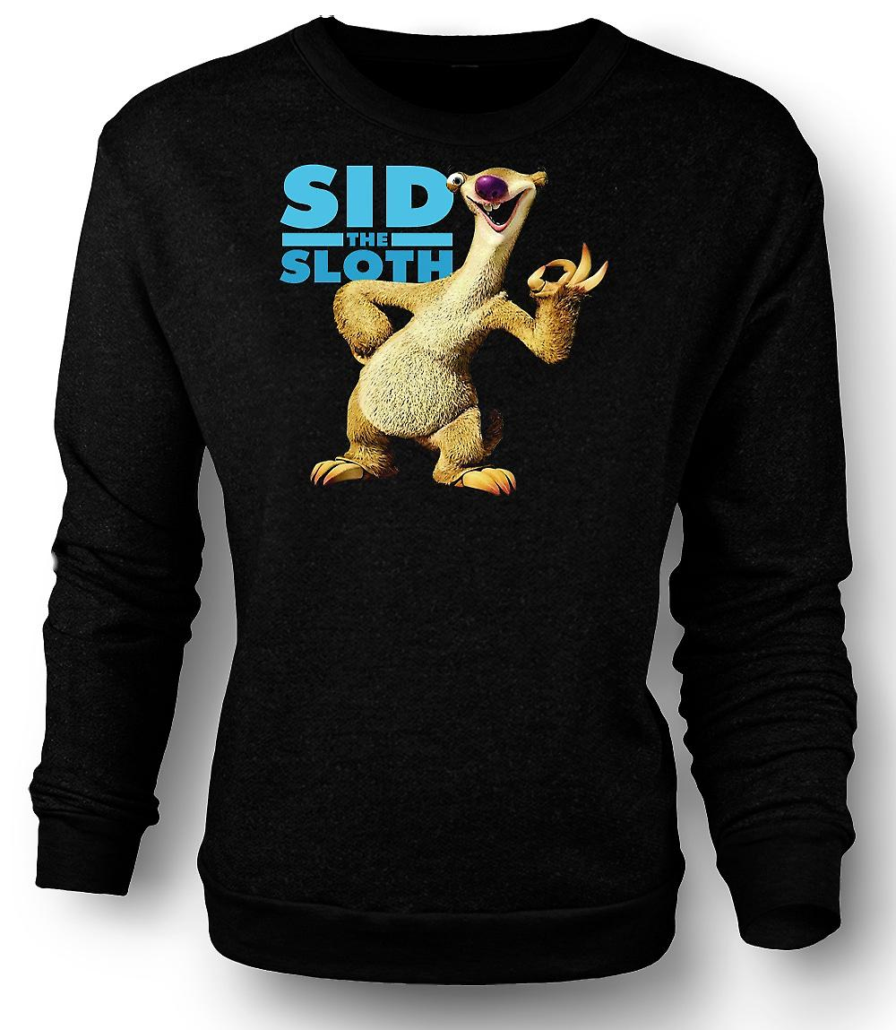 Mens Sweatshirt Ice Age - Sid The Sloth