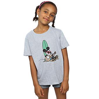 Disney jenter Mikke Mus Surf og Chill t-skjorte