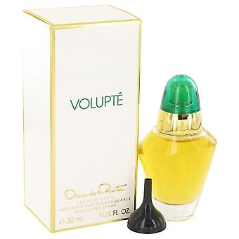 VOLUPTE by Oscar de la Renta Eau De Toilette Refillable Spray 1 oz / 30 ml (Women)