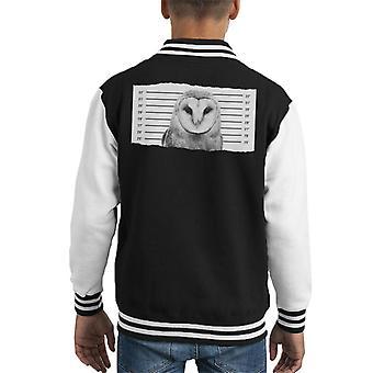 Uil Mugshot Kid's Varsity Jacket