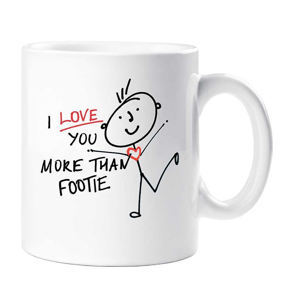 Que Plus Je Footie Mug T'aime zpqSUMVG