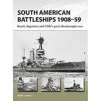 South American cuirassés 1908-59: course de dreadnought grand Brésil, en Argentine et au Chili (nouvelles Vanguard)
