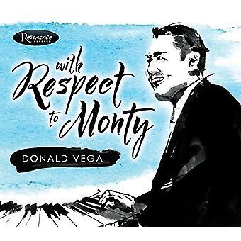 Donald Vega - med hensyn til Mont [CD] USA import