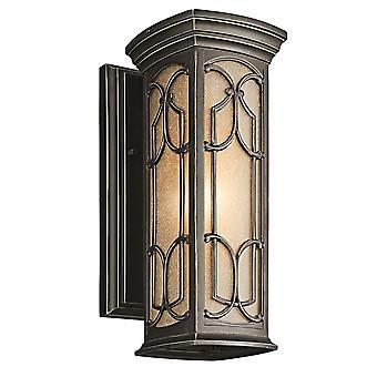Franceasi udendørs KL/FRANCEASI/lille væg lanterne - Elstead belysning Kl / Franceasi / KL/FRANCEASI/S