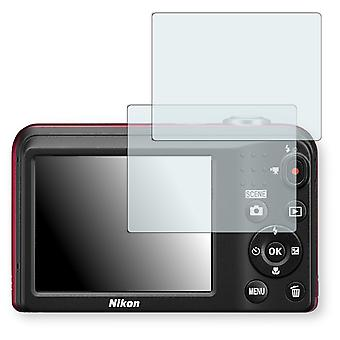 Nikon COOLPIX L29 display protector - Golebo crystal clear protection film
