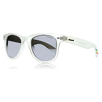 Polaroid 6009/N M INF Crystal 6009/N M vierkante zonnebril gepolariseerde Lens categorie 3 gespiegelde grootte 50mm Lens