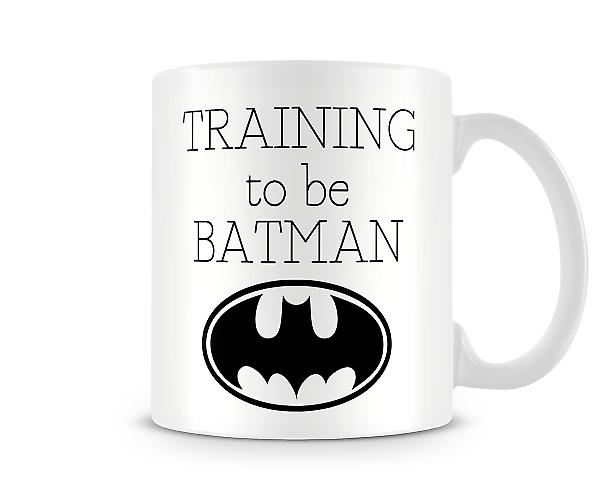 Training To Be Batman Mug
