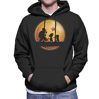 Dragon Ball Z Kame Reise Log Herren Sweatshirt mit Kapuze