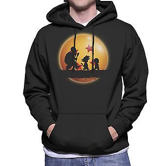 Dragon Ball Z Kame Journey Log Men's Hooded Sweatshirt