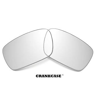 CRANKCASE Replacement Lenses Crystal Clear by SEEK fits OAKLEY Sunglasses