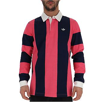 Adidas Blue/red Cotton Sweater